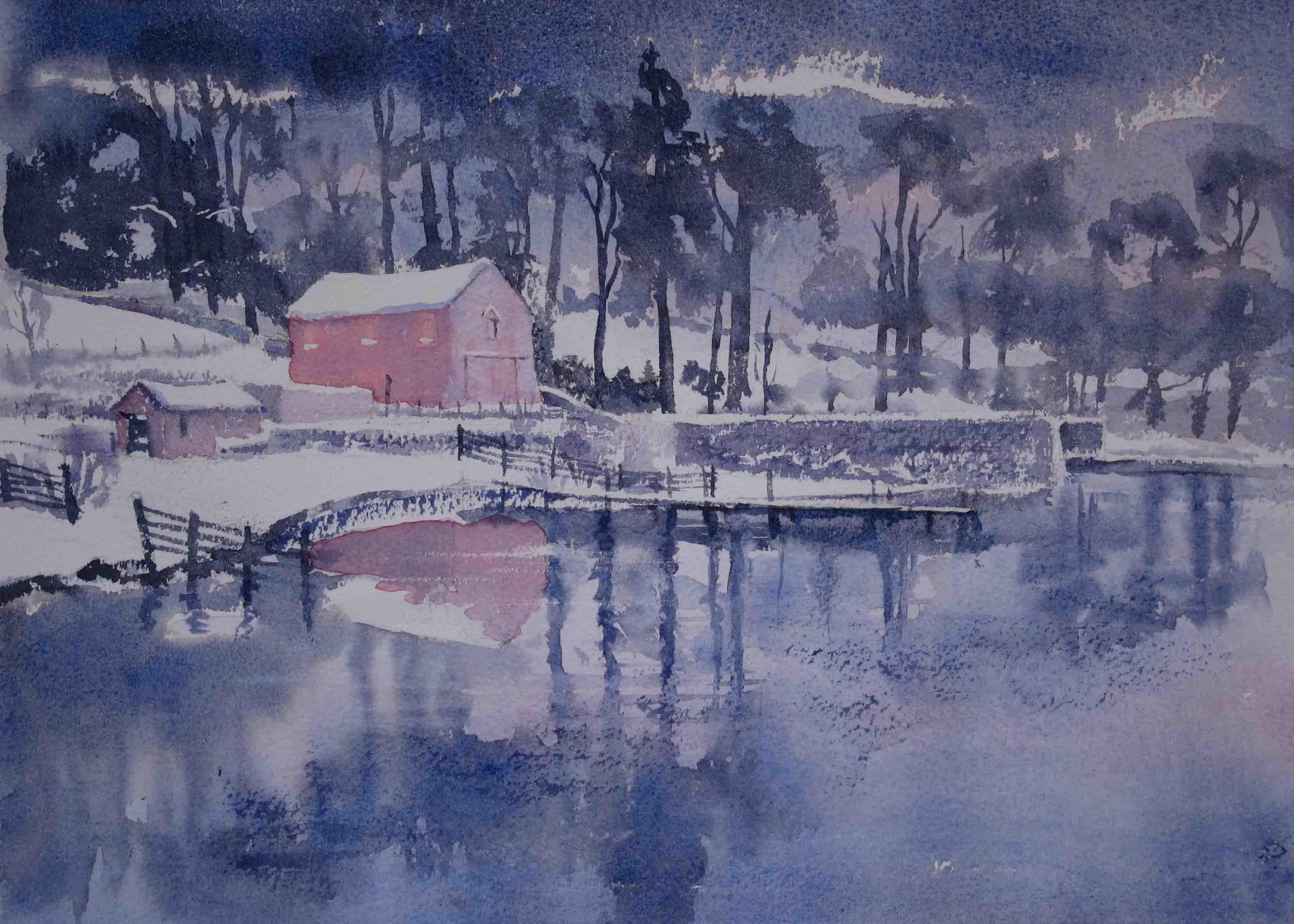 Ullswater, Winter