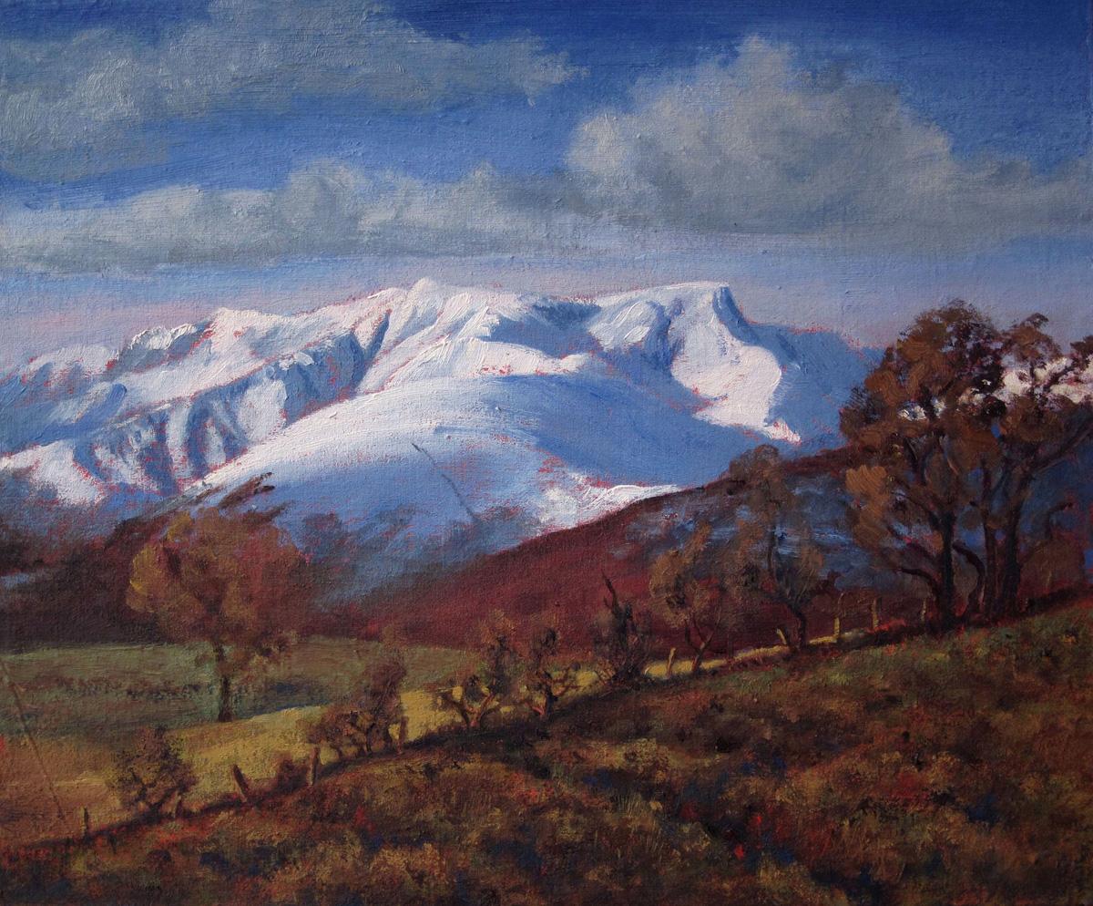 Blencathra, Winter Sunshine