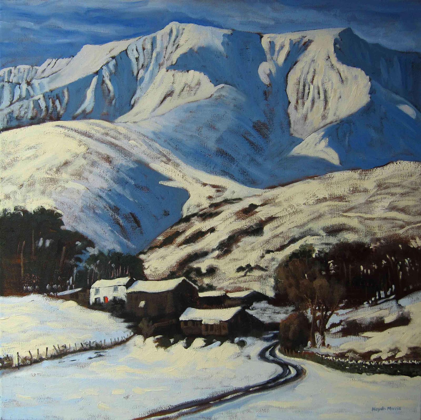 Blencathra, Snow