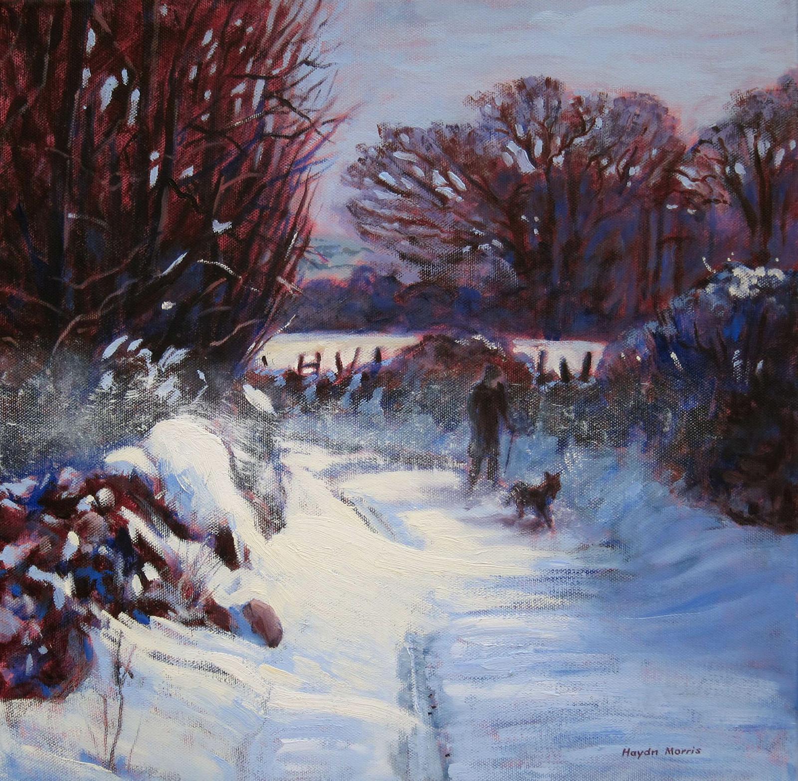 Drifting Snow, East Fellside