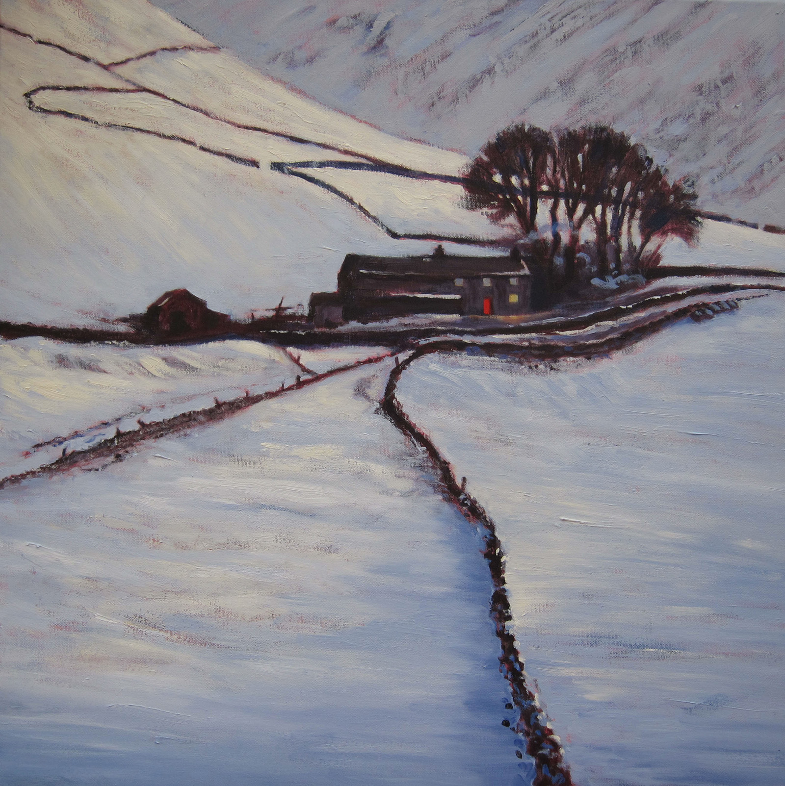 Howgills, Winter