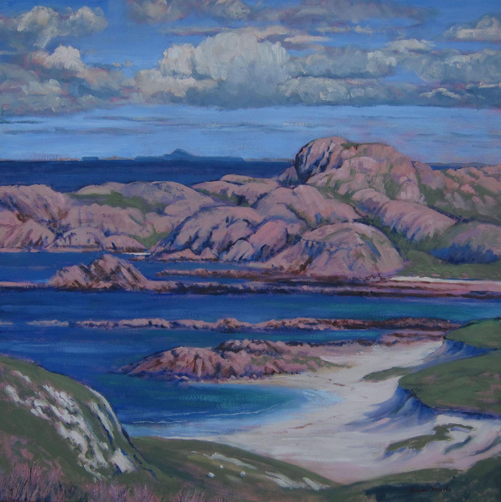 Iona, toward Dutchman's Cap