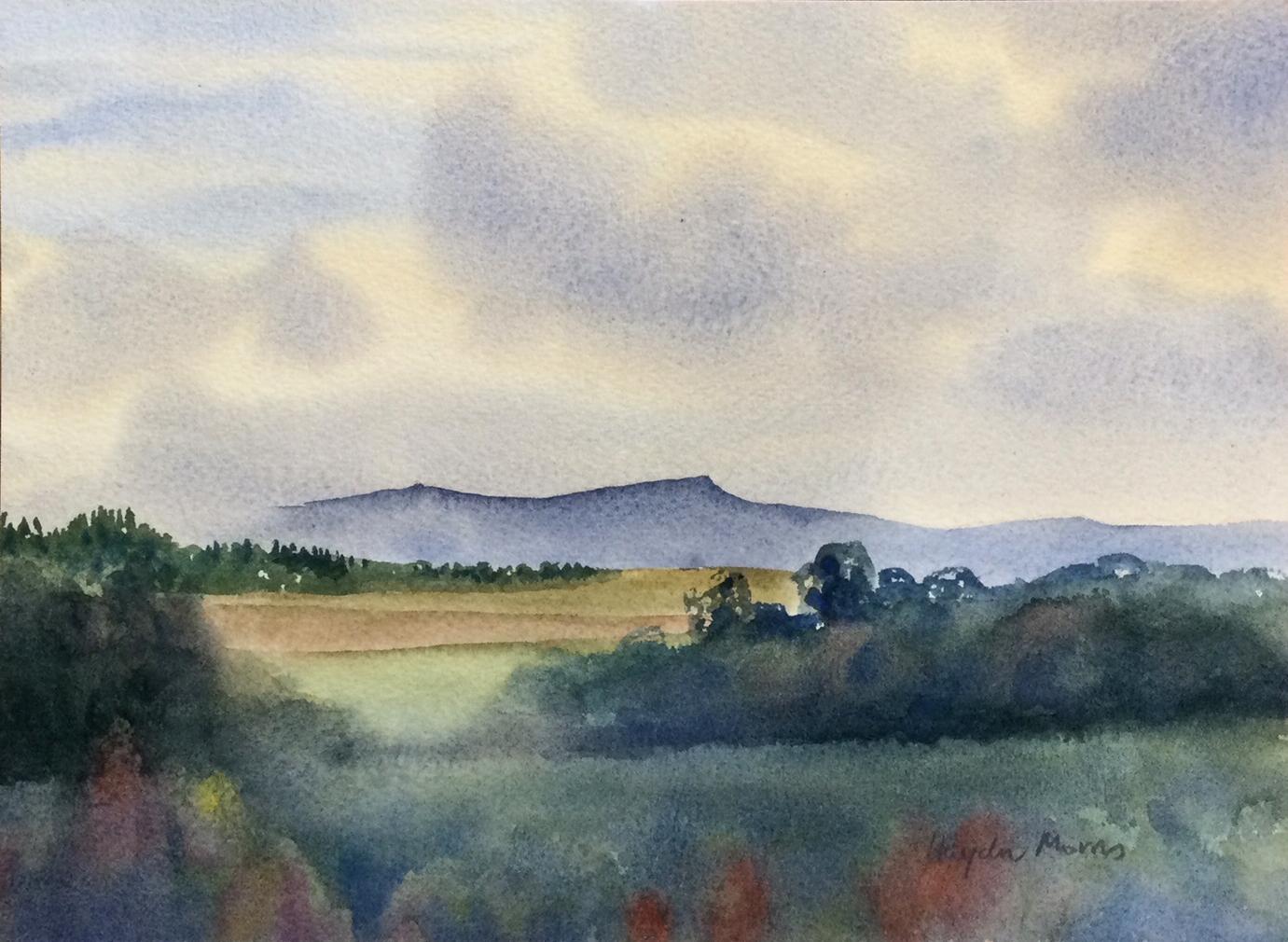 Blencathra-Autumn-Showers-watercolour-20x28cm